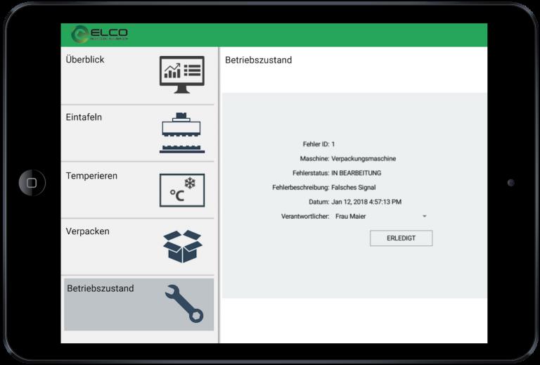 Industrie Apps und Live-Betriebsdaten auf mobilen Endgeräten Instandhaltung und Wartung