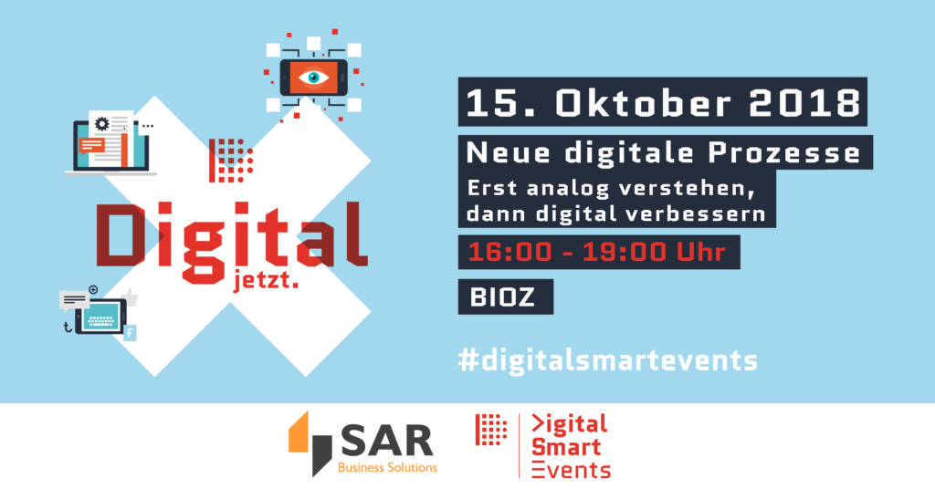 Veranstaltung Neue digitale Prozesse